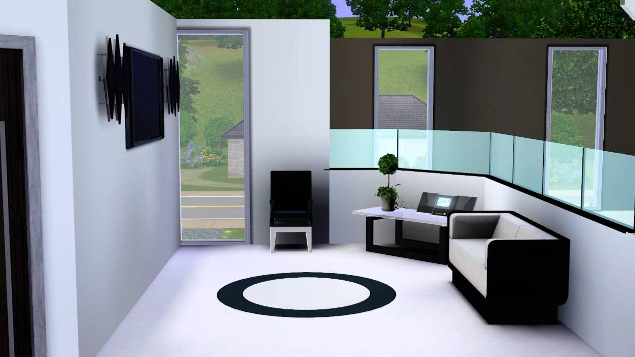 Sims 3 modernes luxus haus youtube for Modernes haus sims 3