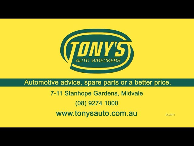 Tony's Auto Wreckers | Automotive Advice, Spare Parts or a Better Price!