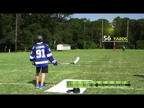 Steven Stamkos - BAUER SUPREME TOTALONE MX3 Stick: MX3 Field Goal Challenge