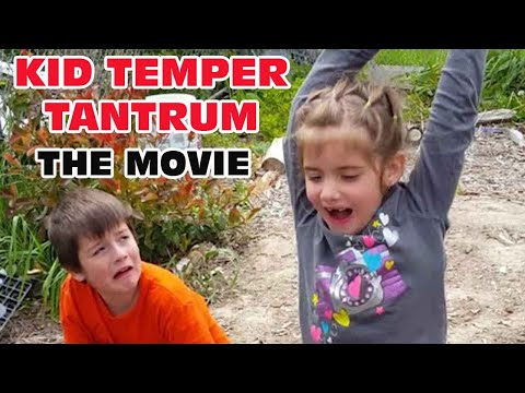 Kid Temper Tantrum Sister Smashes XboxOne The Movie [ Original ] 50k Subscribers Special