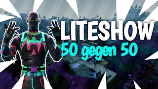 50 gegen 50- Liteshow Skin- Fortnite Battle Royal Gameplay- BLX