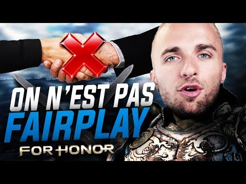ON N'EST PAS FAIRPLAY ! (For Honor) (ft. Squeezie, Doigby)