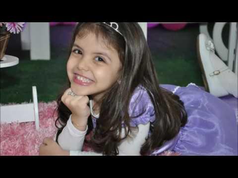 Homenagem de aniversário de 7 anos para minha princesa Luiza