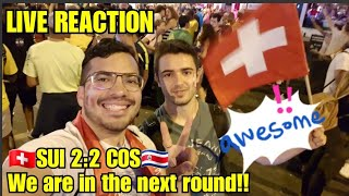 Swiss Fan reacts to SWITZERLAND vs. COSTA RICA 2:2 | FIFA WORLD CUP RUSSIA 2018 Highlights Goals