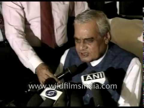 Atal Bihari Vajpayee offered to participate in talks to hold productions of fissile material