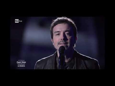 "Eurovision Song Contest 2020: Diodato canta ""Fai rumore"" nell' Arena di Verona"