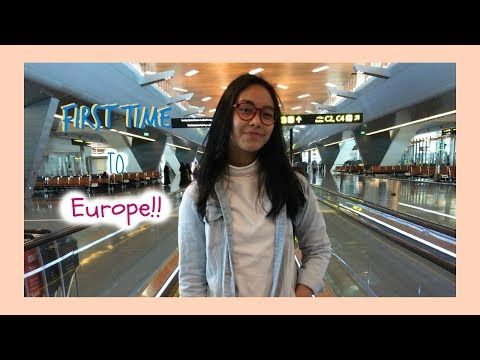 First Time To Europe!! || Qatar Airline Jakarta-Doha-France || Day 1 France (Bahasa)