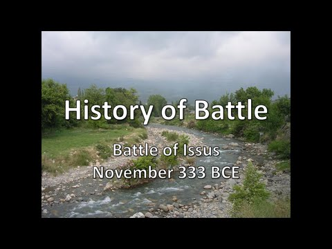 History of Battle - The Battle of Issus (November 333 BCE)