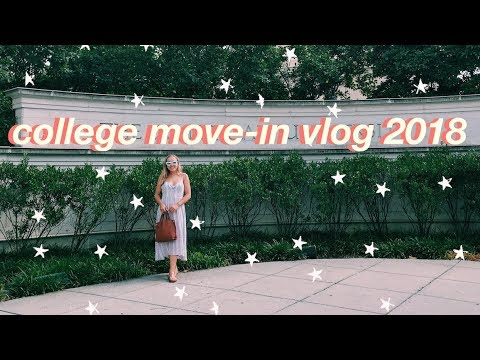 college move in vlog 2018 | freshman year at american university