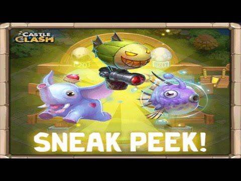 Castle Clash Sneak Peek! Pets Are Coming!