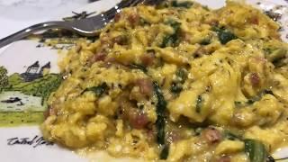 Gordon Ramsay Herby Pancetta Scrambled Eggs! Best KETO Eggs Ever!