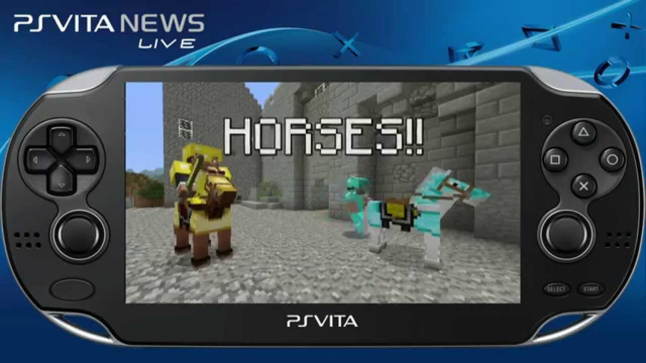 New Update For Minecraft PlayStation Vita Edition YouTube - Minecraft spiele fur ps vita