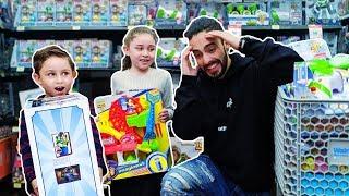 Le compramos TODOS LOS JUGUETES DE LA JUGUETERÍA! ToyStory4