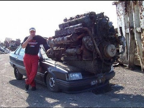 10 Ultimate Crazy Engine Swaps You Never Seen