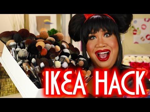 CHEAP IKEA MAKEUP HACK | PatrickStarrr