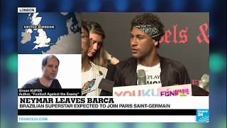 Neymar leaves Barça   You must not see it as a rational business transaction