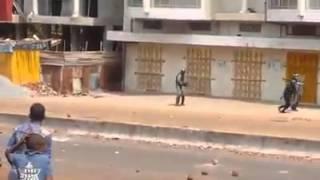 Manifestation en guinée conakry 2015