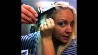 HOW TO REMOVE TAPE HAIR EXTENSIONS - Video 2