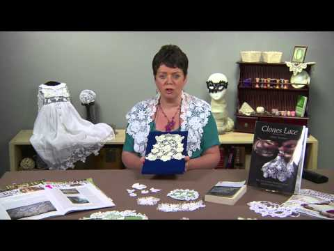 Irish Crochet and Clones Lace - YouTube