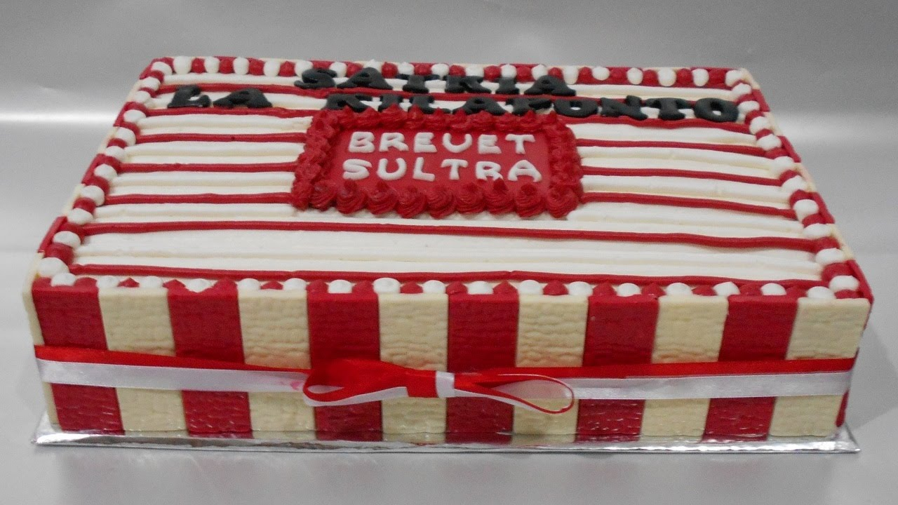 Red White Cake Decorating Theme Youtube
