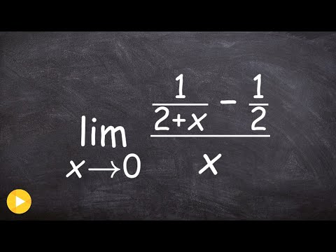 How to evaluate a limit with fraction in the numerator and denominator