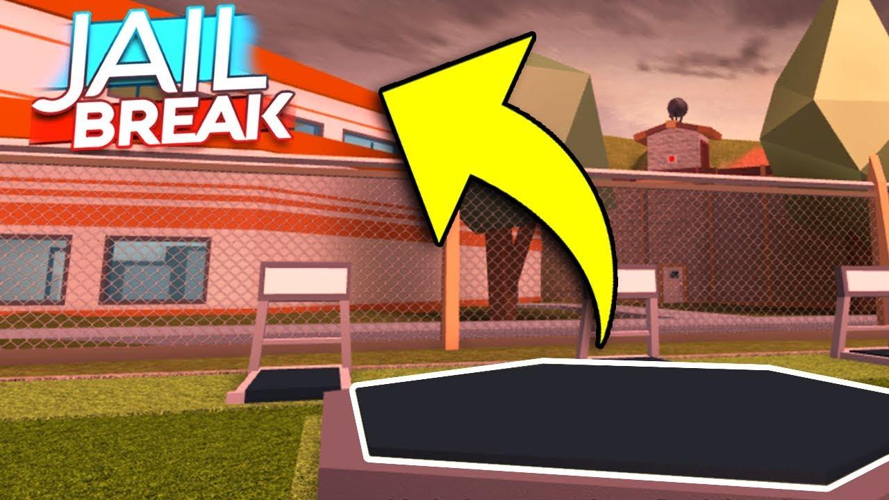 Secret Prison Escape Glitch In Roblox Jailbreak Secret Prison