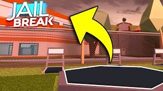 SECRET PRISON ESCAPE GLITCH IN ROBLOX JAILBREAK - Secret Prison Escape Locations in Roblox Jailbreak