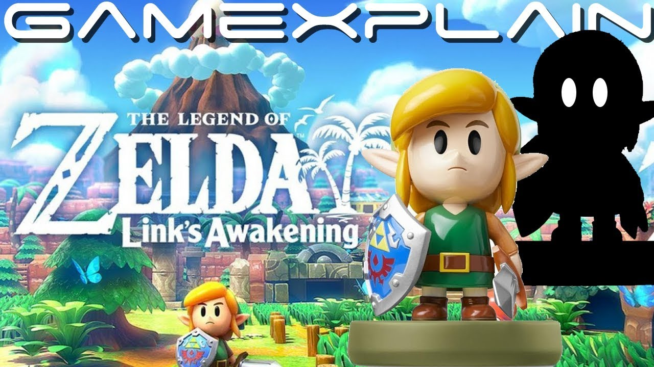 Shadow Link In Link S Awakening Amiibo Details Revealed