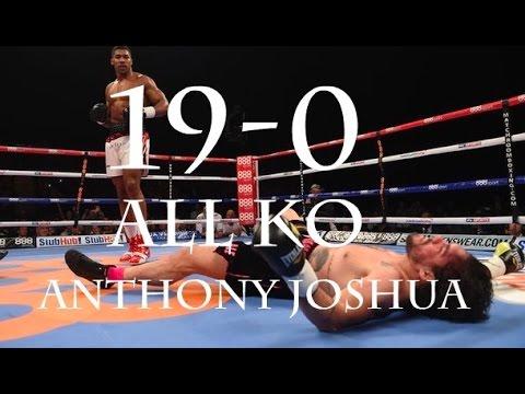 2017 Anthony Joshua 19-0 All Knockouts