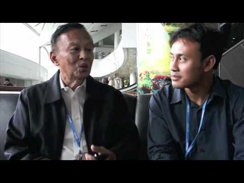 Interview with the Indonesia Minister of Environment, Rachmat Witoelar (in Bahasa)