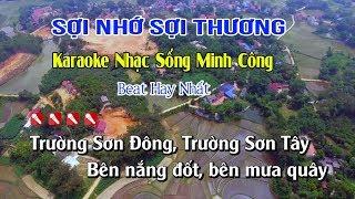 Sợi Nhớ Sợi Thương Karaoke Nhạc Sống Cha Cha Hay Nhất - Tone Nam