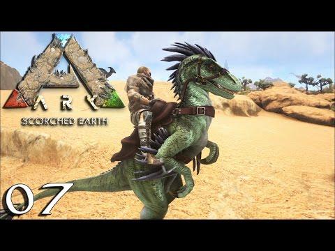 Ark : Scorched Earth #07 - Exploration En Raptor - royleviking [FR HD PS4]