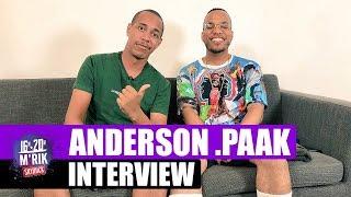 interview mrik x anderson paak