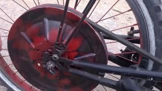 мопед из велосипеда и двигателя от бензопилы!! №1(, 2016-08-04T17:08:19.000Z)