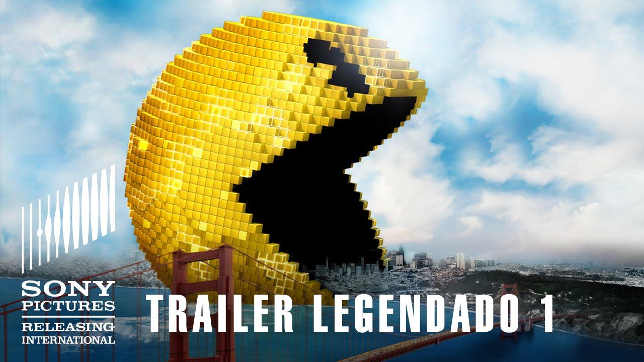 Pixels | Trailer 1 Legendado | 23 de julho nos cinemas