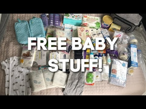 HOW TO GET TONS OF FREE BABY STUFF! (2019)