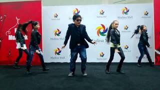 Yasmina Alidodova Fusion 5 Dance Performance-Gangnam Style Madina Mall