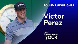 Victor Perez shoots second consecutive 65 in Saudi Arabia | 2020 Saudi International