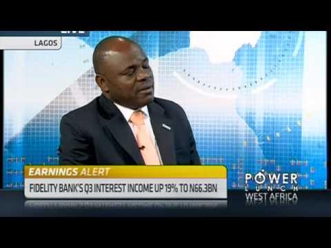 Fidelity Bank's Q3 net profit lower