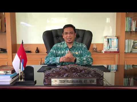 Ucapan selamat datang dari Ketua DPRD Kota Bandung