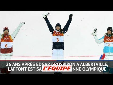 JO 2018 - Ski de bosses (F) : Laffont montre la voie