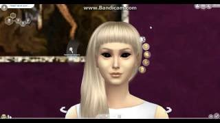  Создание персонажа в The sims 4 Йоланди из Die Antwoord 