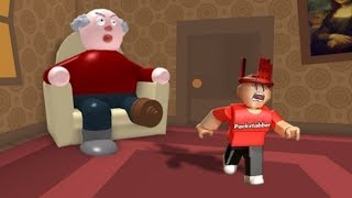 ROBLOX: ESCAPE GRANDPAS HOUSE OBBY!