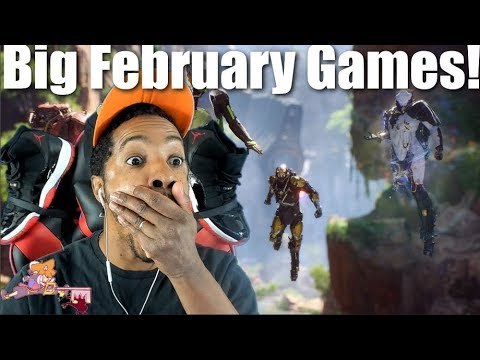 Every Big Game Coming Febuary 2019 For Xbox One, Playstation 4, & Nintendo Switch