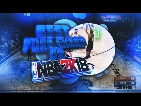 THE BEST PURE SHARP ON NBA 2K19! NEW BEST JUMPSHOT & ANIMATIONS!