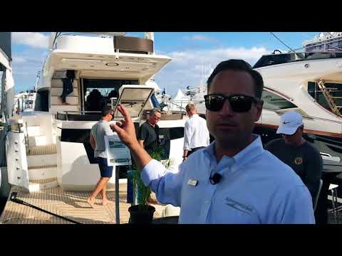 Tour of the Galeon Yachts Booth at the 2017 Fort Lauderdale Boat Show
