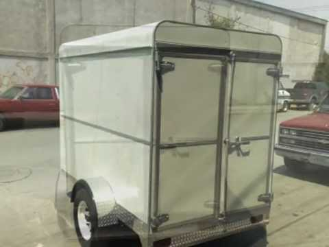 Remolque TTM Trailers modelo caja cerrada Van 9 x 6 x 6