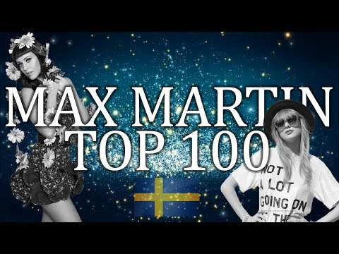 Top 100 Hit Songs Written & Produced by Max Martin (so far!)