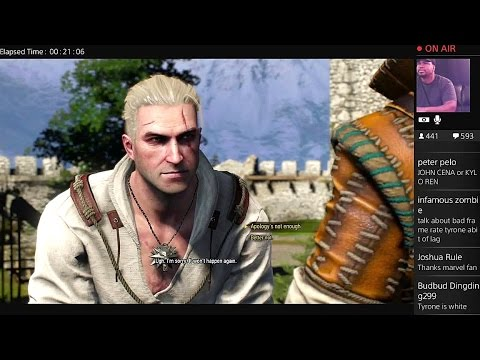 Tyrone Magnus Plays: The Witcher III #1!!!