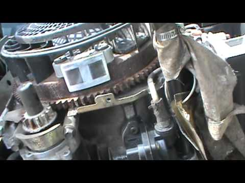 Cub Cadet 18 hp Kohler Command engine coil after its is cleaned